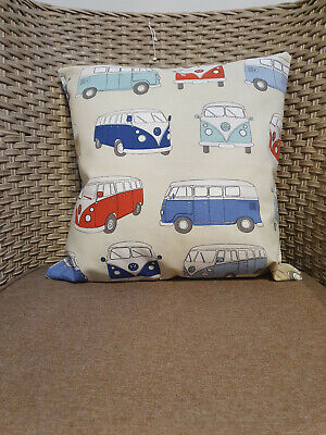 VW Campervan Cushion Cover - Official VW Fabric - Choice Of 2 Fabrics • 6£
