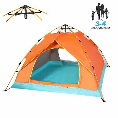 AU45.99 • Buy QOZY Camping Tent 4 Person, Instant Automatic 1 Minute Pop Up Dome Tent,Portable