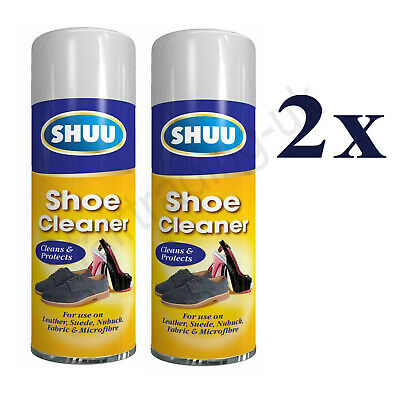 £6.96 • Buy 2 X New Shoe Cleaner & Protect Cleaner Nubuck Leather Suede Fabric Spray 300ML