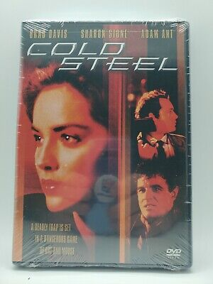 £14.19 • Buy Cold Steel (DVD, 2002) Sharon Stone - Adam Ant - Wide / Full Screen - NEW