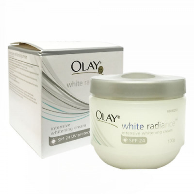AU20.27 • Buy Olay White Radiance Intensive White Cream SPF 24 100g FREE SHIPPING WORLD WIDE