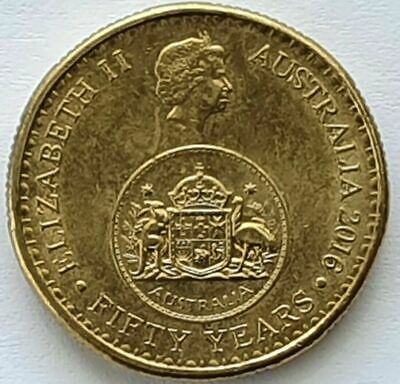 AU29.90 • Buy 2016 AUSTRALIAN $1 ONE DOLLAR COIN-50 YEARS OF CHANGEOVER-Good Cond.⭐