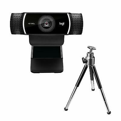 AU112.18 • Buy Logitech C922 1080P HD Video Streaming And Recording Camer Pro Steam Webcam