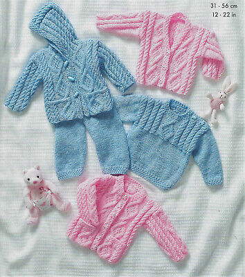 £2.79 • Buy Baby Knitting PatterN Cardigan,Sweater,Jacket,Trousers In DK To Fit Prem-2yr B81
