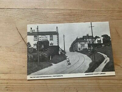 £2.50 • Buy Picture Postcard-:PORTSMOUTH, THE TOP AND PORTSDOWN HILL
