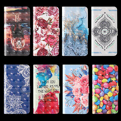 $4.96 • Buy For Samsung Hot New Luxury Fashion Painted Flip Antislip Wallet Phone Case Cover
