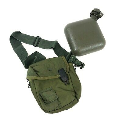 $ CDN25.38 • Buy 2 Quart Canteen OD W ALICE Sling Olive Drab Military Insulated Carrying Pouch