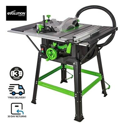 £199.99 • Buy Evolution FURY5-S 255mm Table Saw With TCT Multi-Material Cutting Blade (230v)
