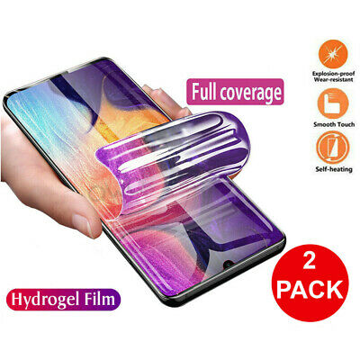 $ CDN4.17 • Buy 2x HYDROGEL Screen Protector For Samsung Galaxy S21 S20 Ultra S10 S9 Plus Note20