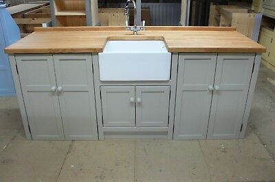 £1400 • Buy FREESTANDING BELFAST SINK/APPLIANCE UNIT-special Offer For August Delivery.