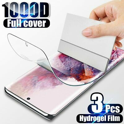 $ CDN4.46 • Buy Screen Protector For Samsung Galaxy S21 S20 S10 Plus Note 20 10 S9 HYDROGEL Film