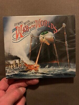 £6.99 • Buy Jeff Wayne's War Of The Worlds 2CD Brand New And Sealed