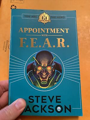 AU12.51 • Buy Fighting Fantasy: Appointment With F.E.A.R. - Jackson, Steve Book F&F VGC