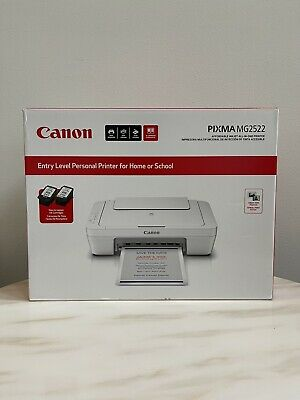 View Details Canon Pixma MG2522 Wired All-in-One Inkjet Printer Scanner And Copier Brand New • 69.95$