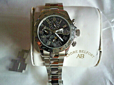 £247.74 • Buy Andre Belfort Swiss Automatic Chronograph Mint