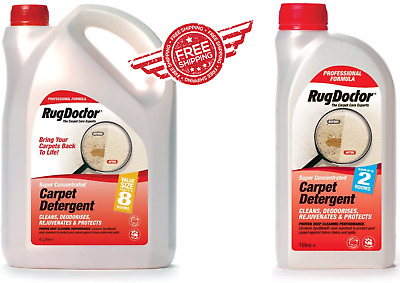 £23.99 • Buy Rug Doctor Carpet Detergents Availabe In All Sizes