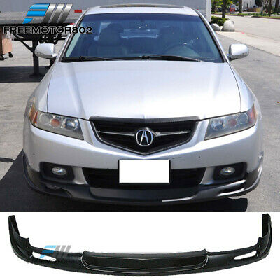 $165.99 • Buy Fits 04-05 Acura TSX Mugen Style Front Bumper Lip Spoiler PU