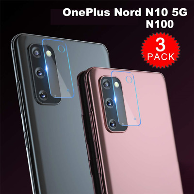 AU2.46 • Buy 3X For OnePlus Nord N10 5G N100 Tempered Glass Camera Lens Screen Protector Film
