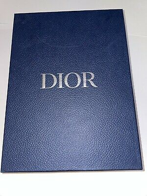 $49.99 • Buy CHRISTIAN DIOR EMPTY Blue Shoe Box Size 10 1/4  X 13 5/8  X 5 1/4  Great Clean