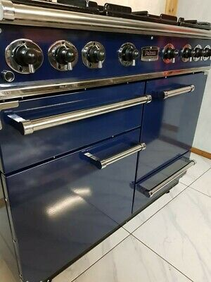 £1390 • Buy All Gas Falcon 110cm Range Cooker In Blue And Chrome.. Ref--k2