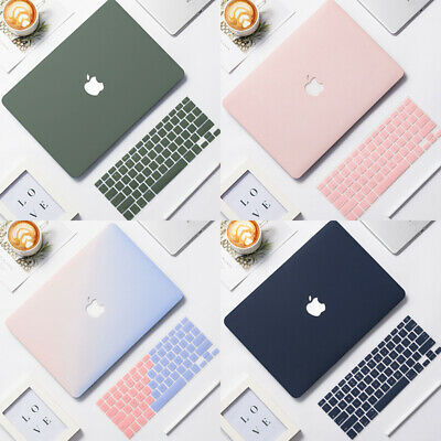 $15.99 • Buy Rubberized Matte Case Cover For New MacBook Air Pro Retina + Silicone KB Cover