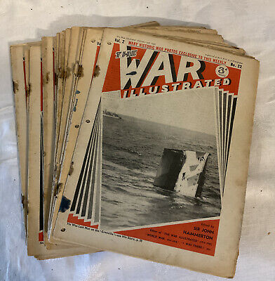 £35 • Buy The War Illustrated Ww2 1940 Magazine 23 Issues Old Military History Vol 2 Uk Gb