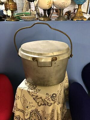 £45 • Buy Vintage Armed Forces  Catering Large  Oval Cooking Pot Jfp Service Supplies