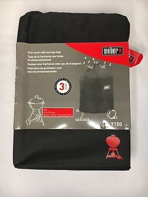 $ CDN38.69 • Buy 1 X Weber 7150 Premium Grill Cover For Kettle & Master-Touch Charcoal Grill 22