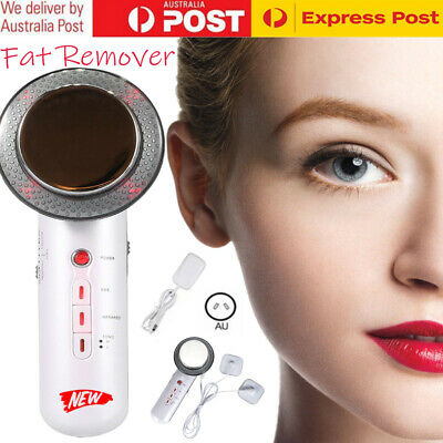 AU25.99 • Buy 3 In 1 Ultrasonic Cavitation Fat Remover Body Massager Face Slimming Machine ~