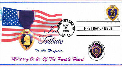 $7.95 • Buy Therome Cachet By Tom Peluso -2003 Military Order Of The Purple Heart L.e.21/50