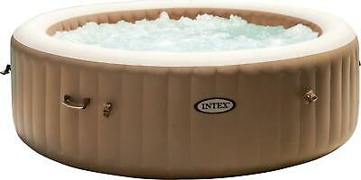 £899.99 • Buy Intex PureSpa Hot Tub Bubble Round 6 Person Deluxe Inflatable Spa Pool