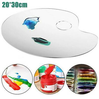 £6.45 • Buy Artist Painting Pallet See Through Plastic Paint Colour Mixing Craft Palette Hot