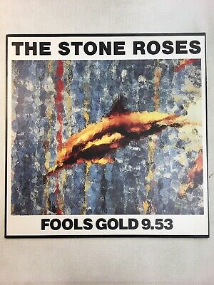 £45 • Buy ID11128z-The Stone Roses-Fools Gold 9.53-ORE T 13-vinyl EX/EX ; BLACK BARCODE