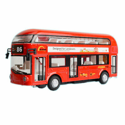 $ CDN21.78 • Buy London Bus Double Decker Bus Model Car Diecast Toy Vehicle Pull Back Sound Red