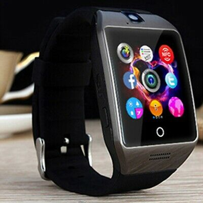 $ CDN17.04 • Buy Q18 Bluetooth Smart Watch Clock Support SIM Card For IPhone Android Screen.