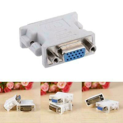 AU3.83 • Buy 15 Pin VGA Female To 24+1 Pin DVI-D Male Adapter Converter Laptop Access N8K2