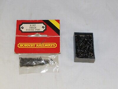 Hornby Track Fixing Pins New In Packet Cat No R207 Plus Extras  • 5£