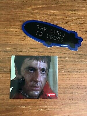 $ CDN21.34 • Buy Supreme Scarface Sticker Set And Individual Blimp Shower