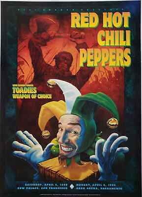 $73.71 • Buy RHCP Concert Poster 1996 BGP-140 Cow Palace