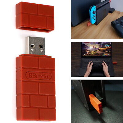 AU22.99 • Buy Bluetooth Dongle USB Adapter Receiver For Nintendo Switch 8Bitdo Controllers