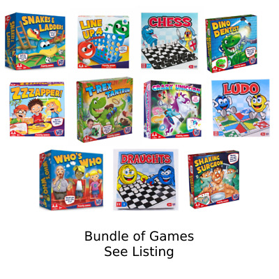 £30 • Buy Traditional Classic Family Childrens Kids Board Games Boardgame BUNDLE WHOLESALE