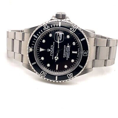 $ CDN15339.50 • Buy Rolex  Submariner 16610 40mm 2008 Box And Papers..