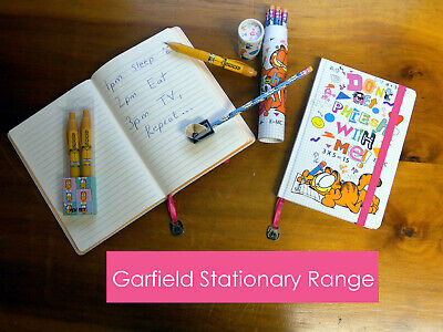 £2.99 • Buy Childrens Garfield Pen, Pencils And Notebook Stationery Set School College Deal