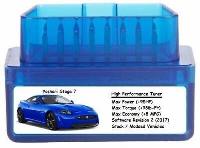 $70 • Buy Stage 7 Performance Power Tuner Chip  Add 95HP 8 MPG  OBD Tuning