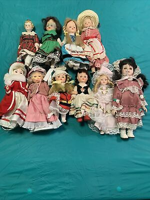 $ CDN50.82 • Buy Vintage Doll Lot 10 Dolls Total Porcelain And Vinyl