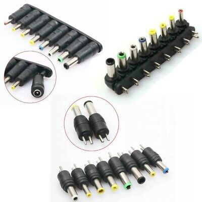 £1.65 • Buy Laptop Charger Power Supply Jack Adapter Tips - 8 Piece Set - Many Styles