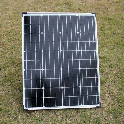 £79.99 • Buy 100W Solar Panel Module Folding Strut & Controller Battery Charge 12V Outdoor
