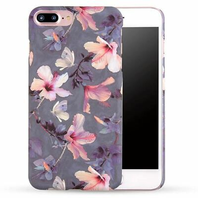 AU1.83 • Buy For IPhone 7 Plus Case Cover Pink Flower Cute Girls Shockproof Hard Bumper Back