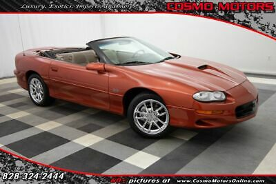 $27997 • Buy 2002 Chevrolet Camaro 2dr Convertible Z28 2dr Convertible Z28 ULTRA RARE!! 41 UNITS PRODUCED!! ONE OWNER!! SS PERFORMANCE