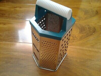 £3 • Buy HAND HELD STAINLESS STEEL GRATER 9  X 5